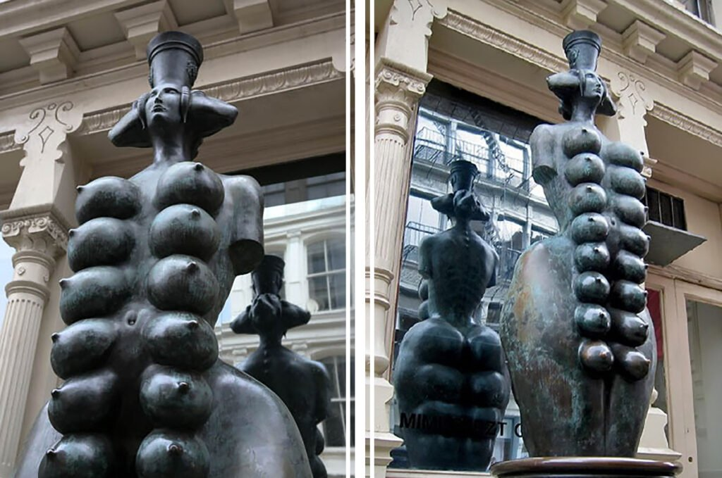 The Best Boobs in Art History: Cybele: Goddess of Fertility by Mihail Chemiakin