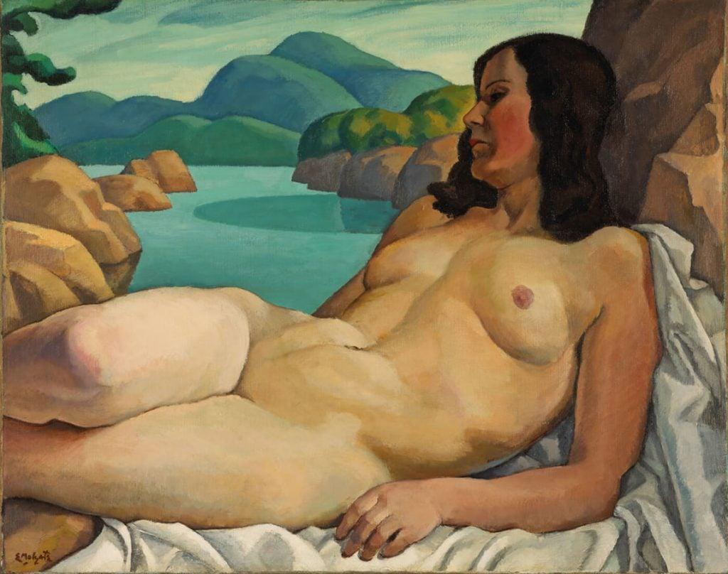 Edwin Holgate, Nude in a Landscape