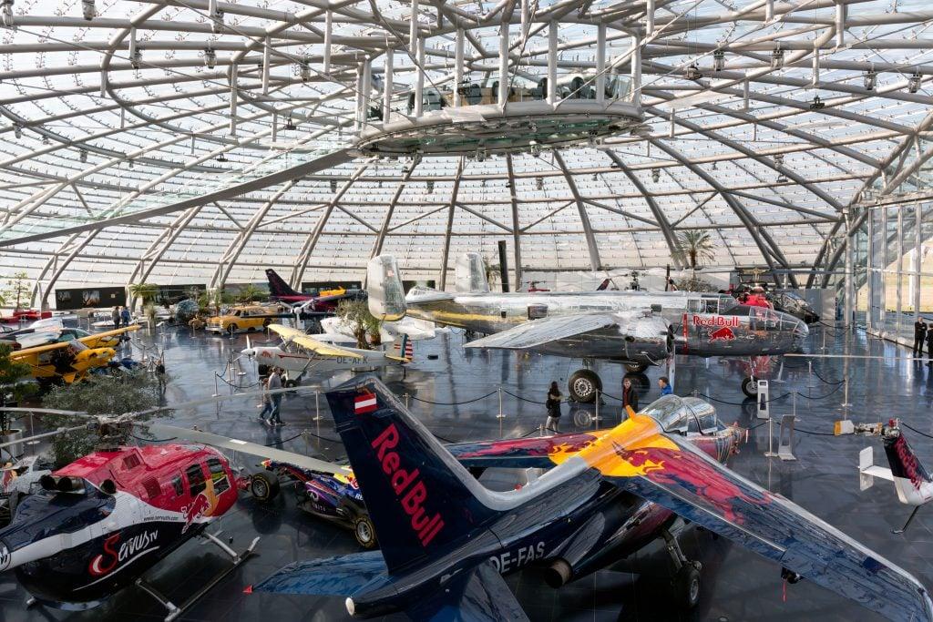 Red Bull Hangar-7, Salzburg, Austria.