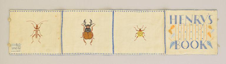 Jeanne Mount, Embroidery Sampler, 1951, Victoria and Albert Museum