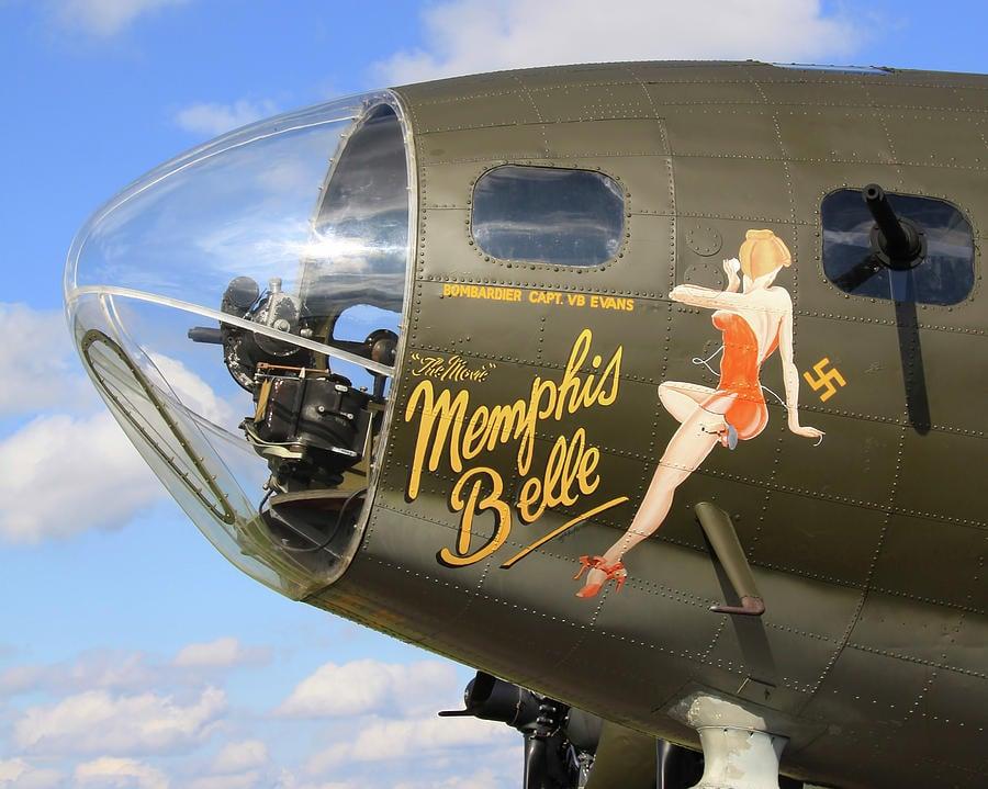 Memphis Belle Nose Art photographed by Robert J Bourke, 2016.