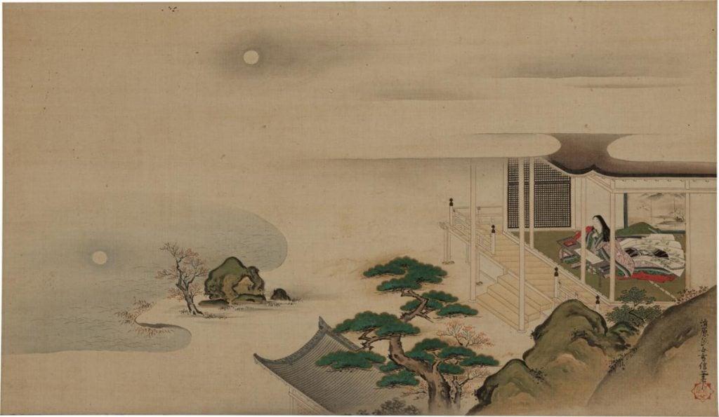 Kiyohara Yukinobu, Murasaki Shikibu