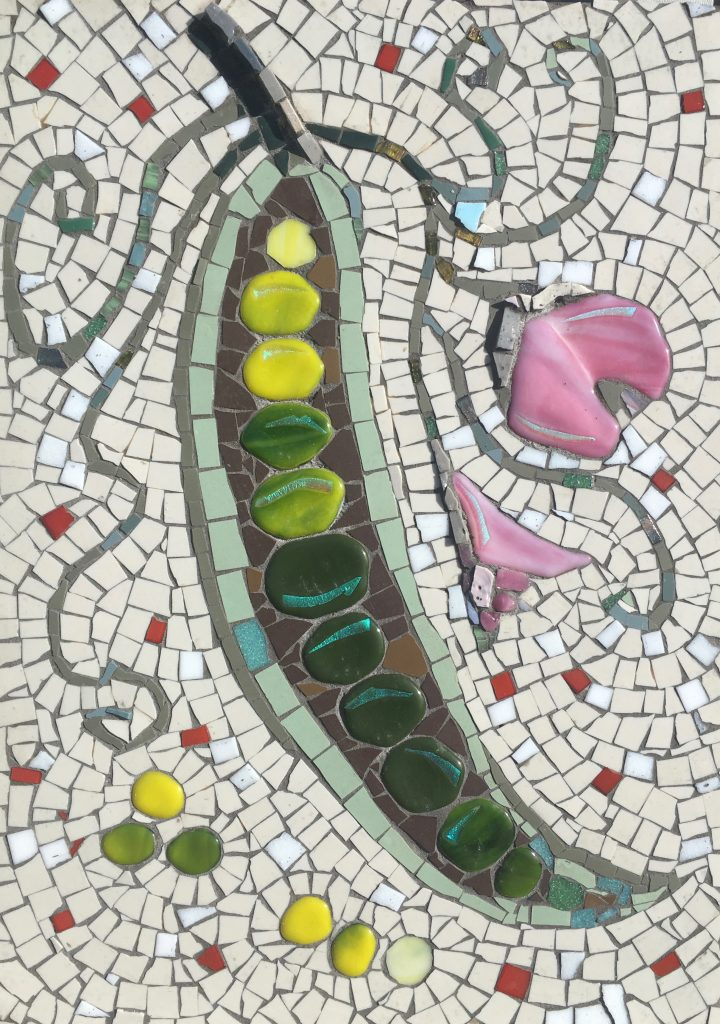 Alison Pierse, Pea and flower mosaic