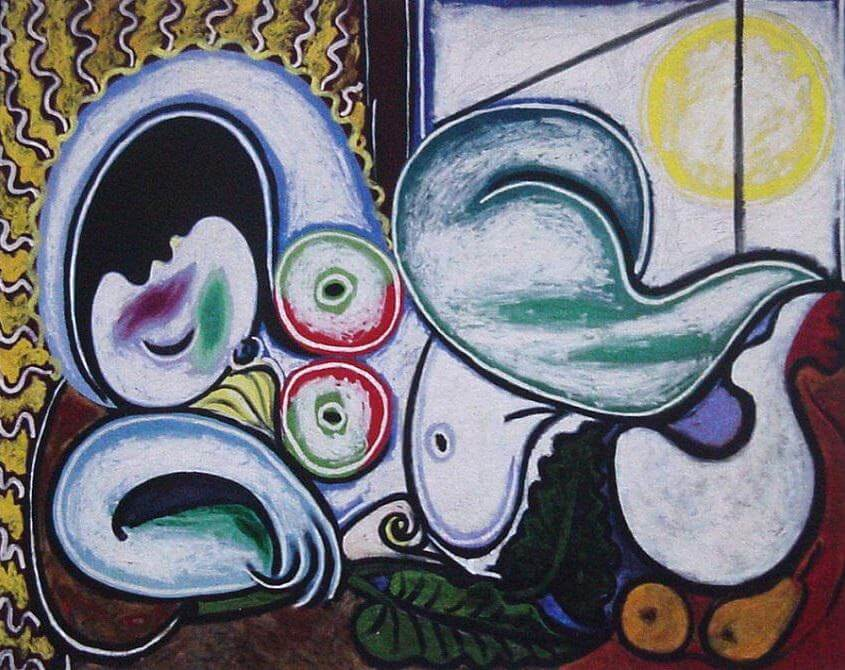 Body positive in art: Pablo Picasso, Reclining woman, 1932