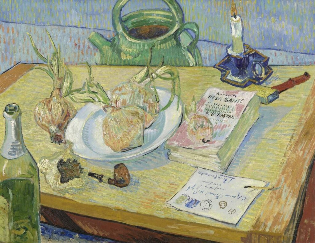 Vincent van Gogh, Still Life with a Plate of Onions