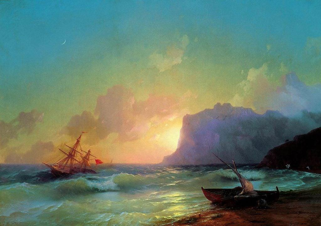 Ivan Aivazovsky, Sea. Koktebel