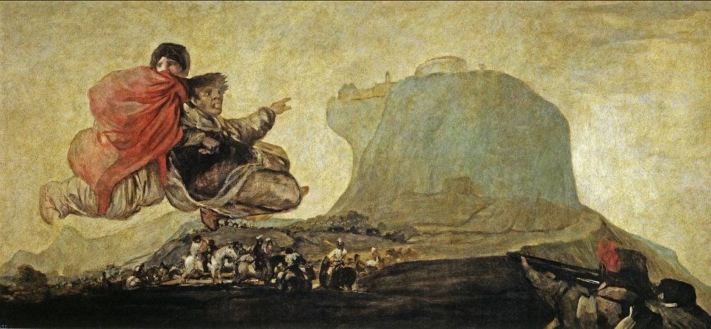 Goya's darkest secrets, Francisco Goya, Fantastic Vision. Pinturas Negras