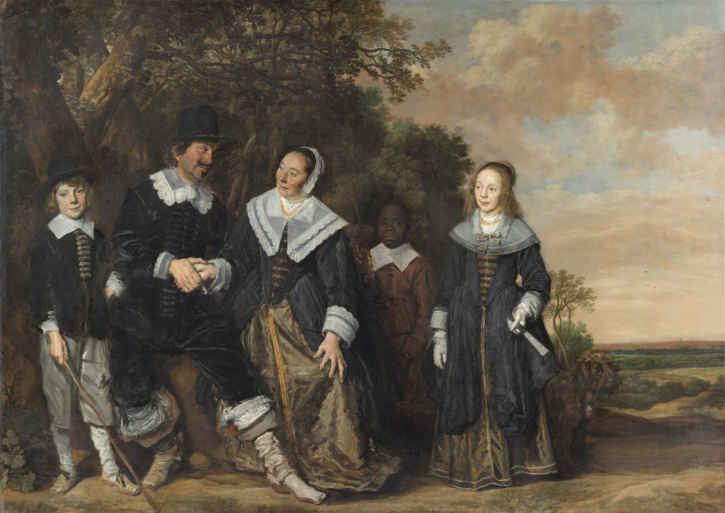 Frans Hals, Family Group in a Landscape, 1645 - 1648, Museo Nacional Thyssen-Bornemisza,