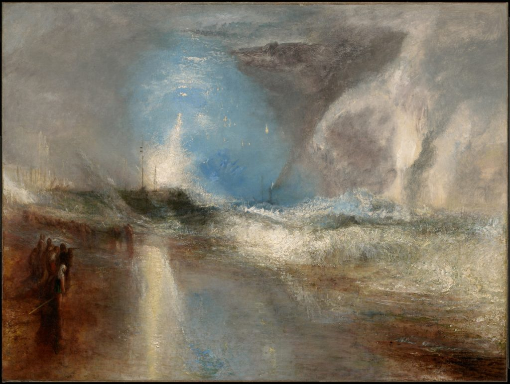 The Clark Highlights: J.M.Turner, Rockets and Blue Lights (Close at Hand) to Warn Steamboats of Shoalwater, 1840, The Clark Art Institute, Williamstown, Massachusetts, U.S.A