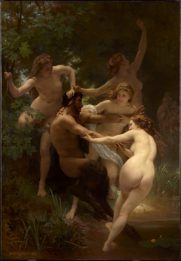 The Clark Highlights: William-Adolphe Bouguereau, Nymphs and Satyr, 1873, The Clark Art Institute, Williamstown, Massachusetts, U.S.A