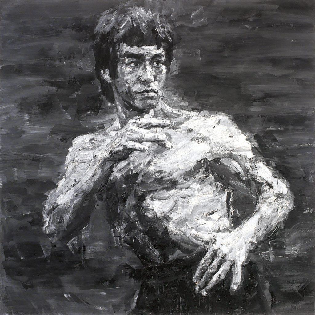 Yan Pei Ming, Bruce Lee - Fighting Spirit