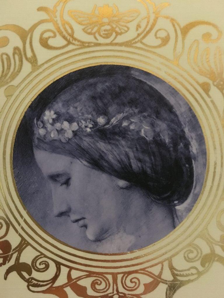 Portrait of Rose La Touche, Rebecca Lipkin, Unto This Last book cover,