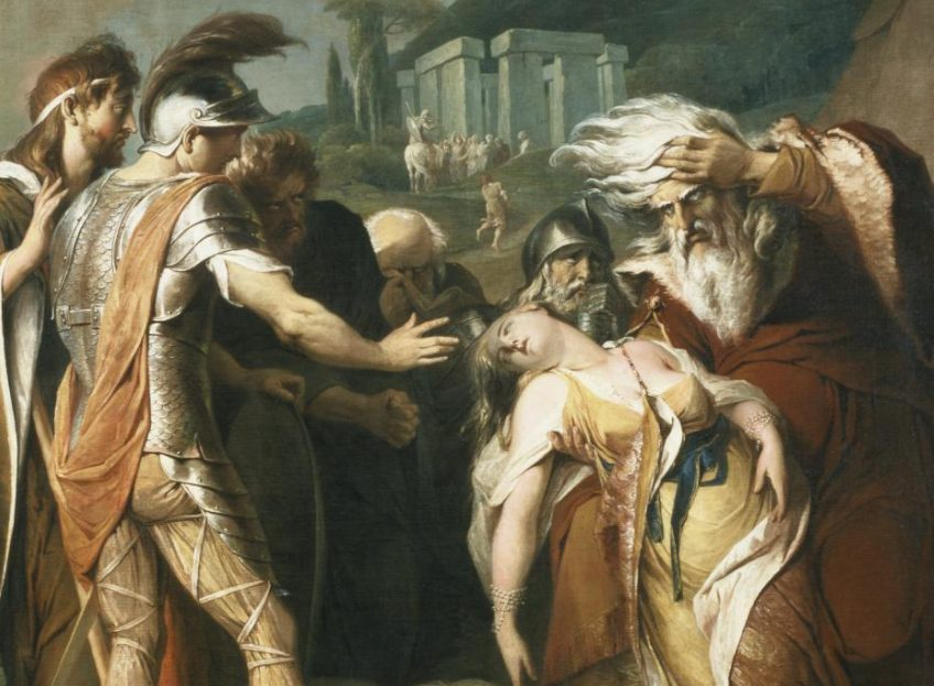 James Barry, King Lear Weeping over the Dead Body of Cordelia, 1786-88, Tate Collection, United Kingdom. Detail. tate.org.uk