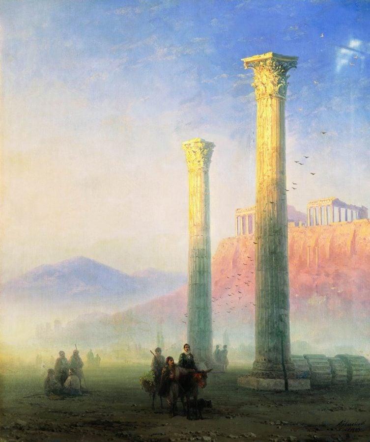 Ivan Aivazovsky, Acropolis of Athens