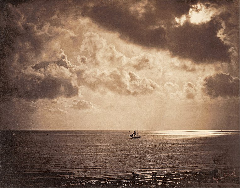 pioneers of photography. Gustave Le Gray, Brig upon the Water