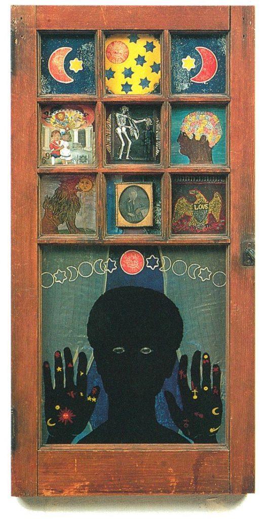 Artistic families: Betye Saar, Black Girl's Window,