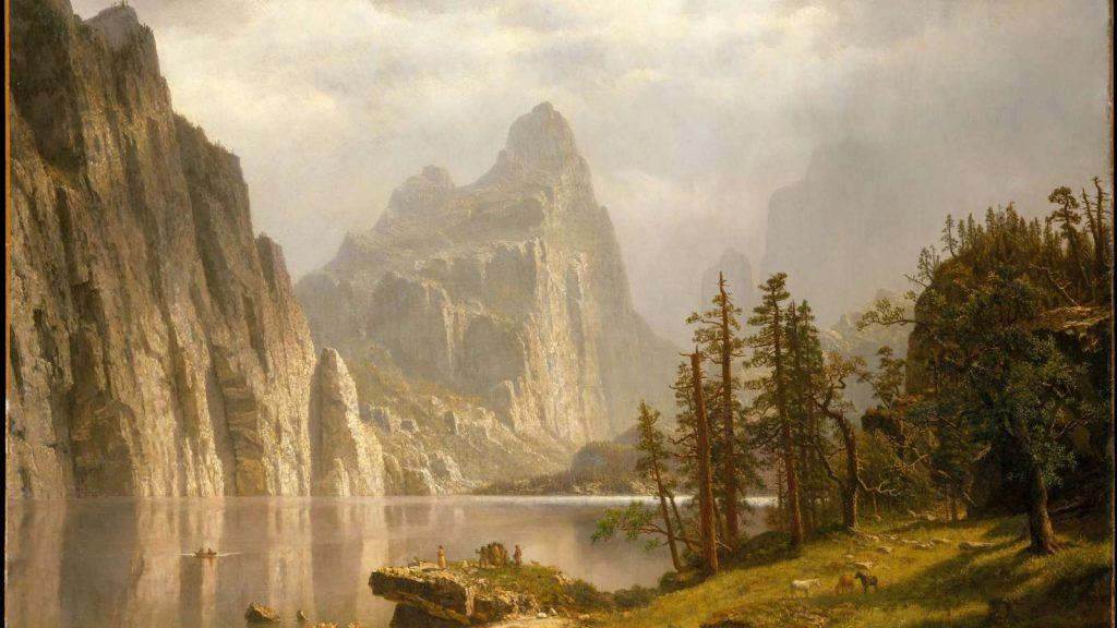 Albert Bierstadt, Merced River, Yosemite Valley cover