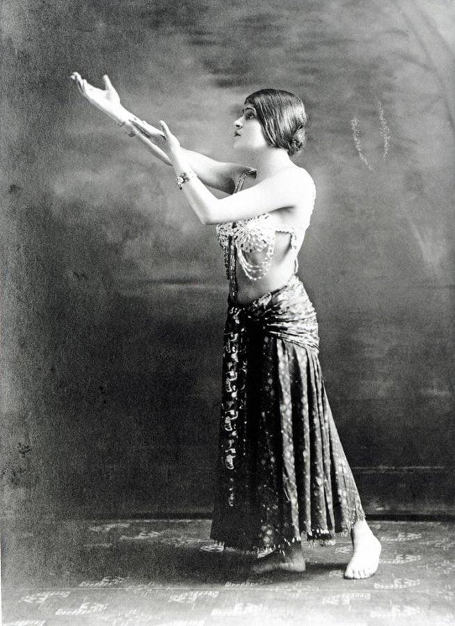 Tina Modotti in a role,