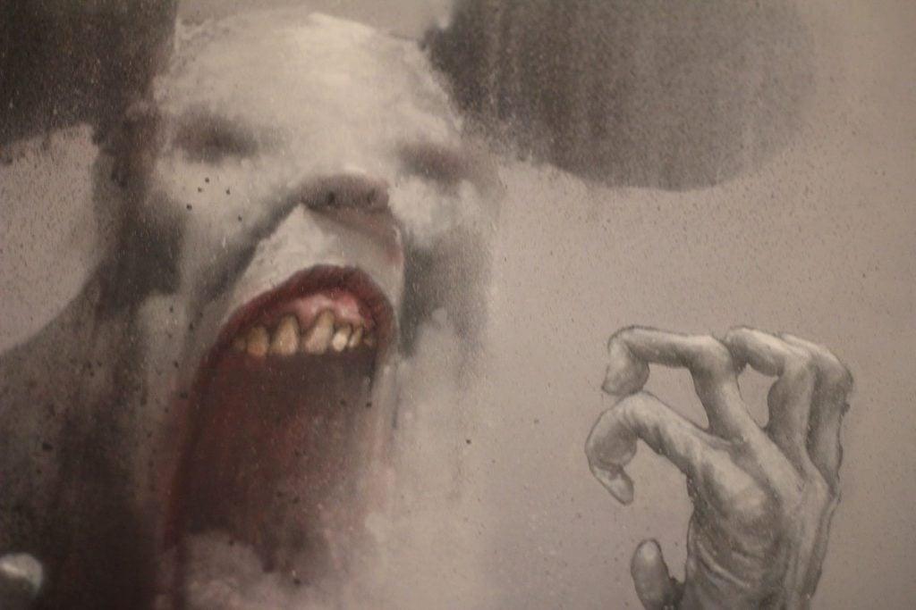 Horror in Art.  Bom K., La Vraie Souris, 2013, Artist's webpage.