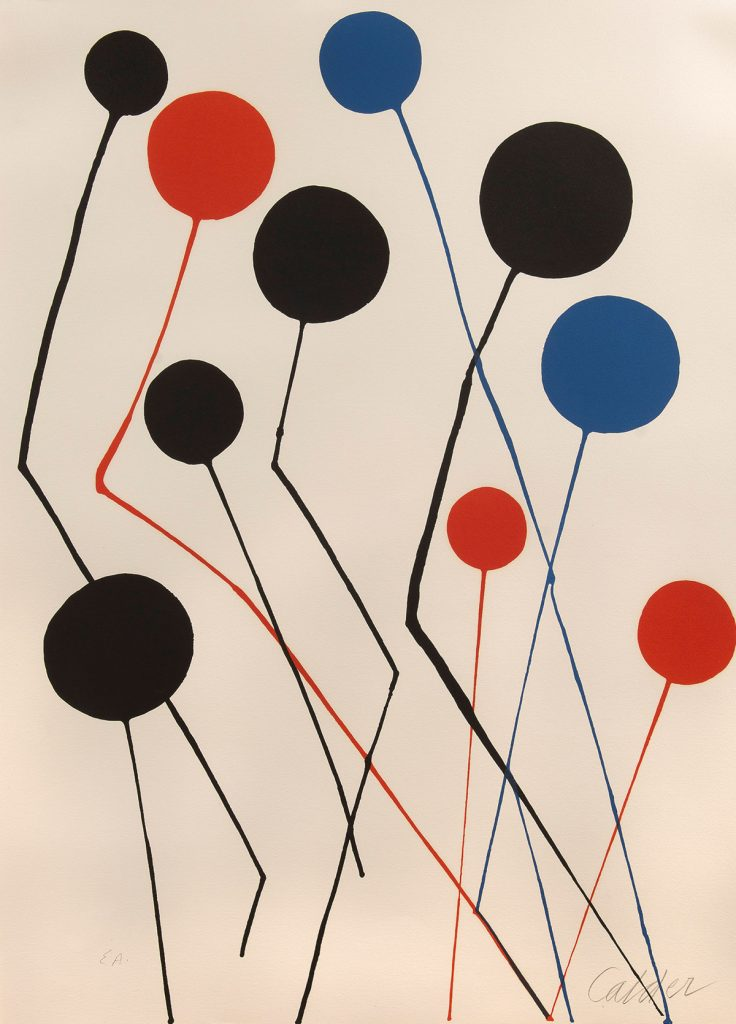 Flying Objects in Art: Balloons by Alexander Calder