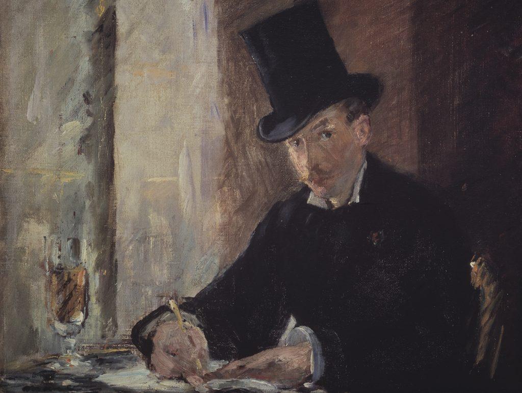 biggest art theft Édourd Manet, Chez Tortoni, 1875,