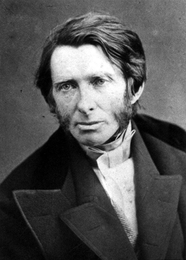 John Ruskin, ca. 1850s, photographer unknown