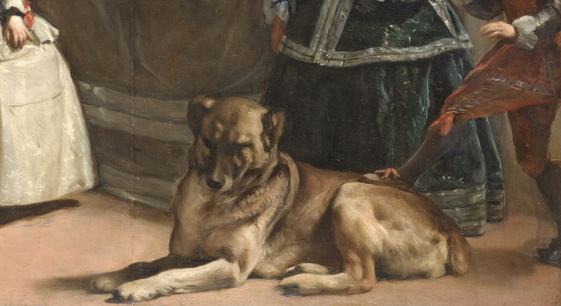 Dog Breeds in Famous Paintings: Diego Vélazquez, Las Meninas