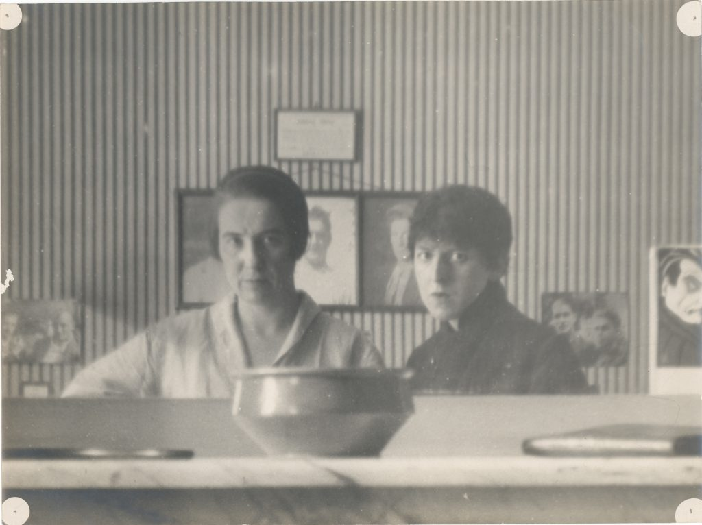 Claude Cahun and Marcel Moore, Self-Portraits reflected in a mirror,