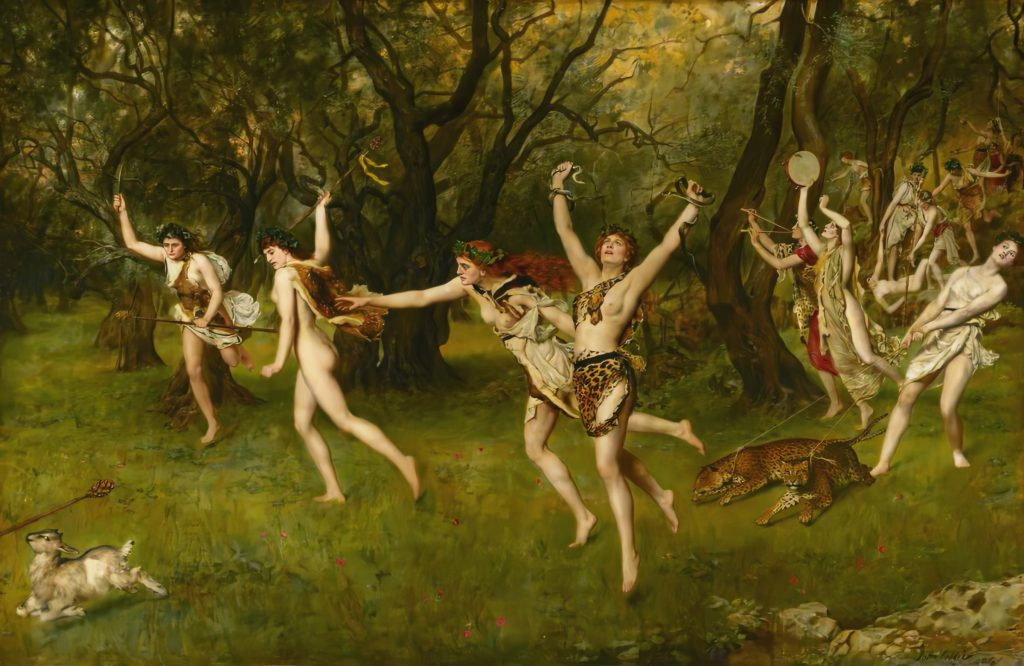 Maenads by John Collier