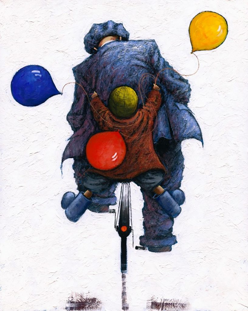 Flying Objects in Art: Hopes and Dreams by Alexander Millar