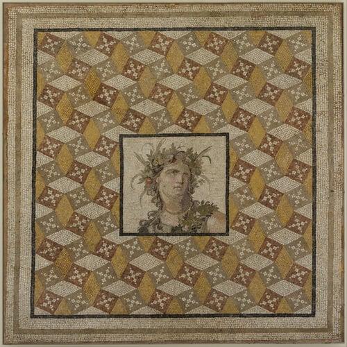 Roman floor mosaics: Mosaic Floor Panel, 2nd century CE
