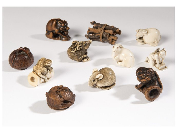 Netsuke from the collection of Edmund de Waal