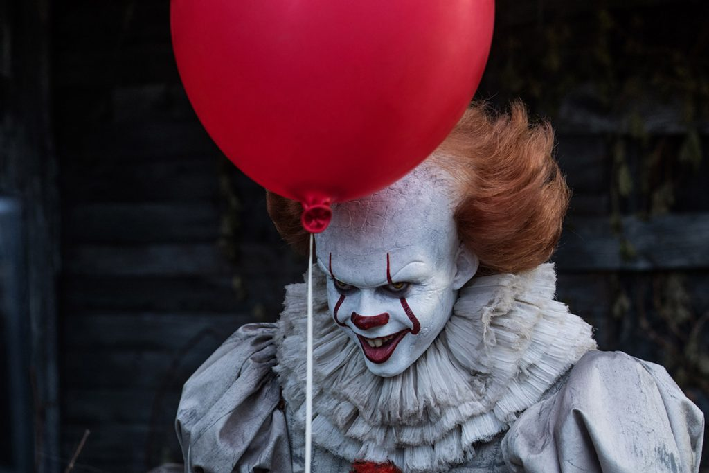 Flying Objects in Art: Pennywise the Dancing Clown from Stephen King's IT