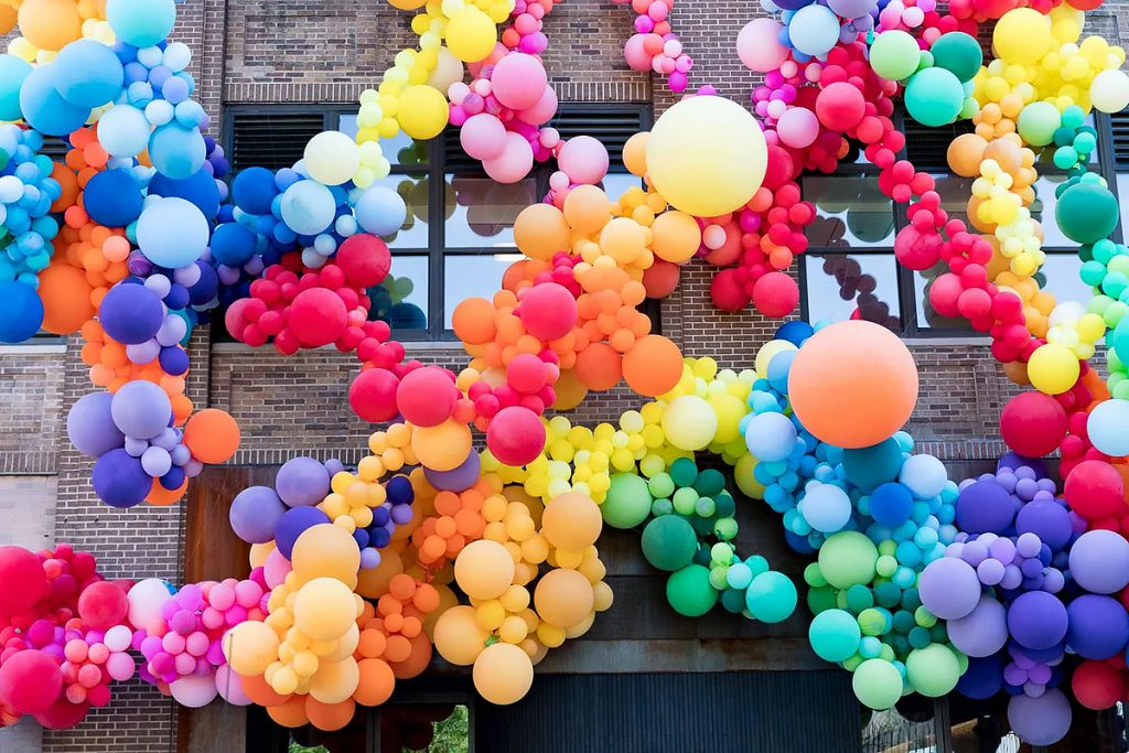 Flying Objects in Art: Pride Balloon Installation in NYC