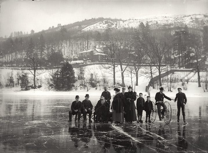 John McLelland, Ruskin and household at Coniston Water