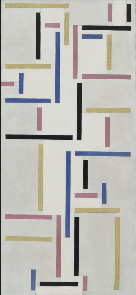 Lygia Pape and Neo-concretism - Art is experience: Theo Van Doesburg, Rhythm of a Russian Dance
