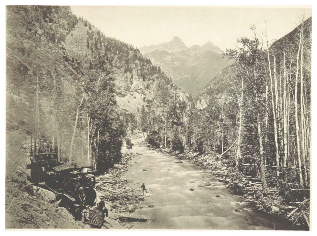 William Henry Jackson, Las Animas Canyon