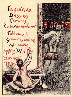 Poster for the Berthe Weill Gallery