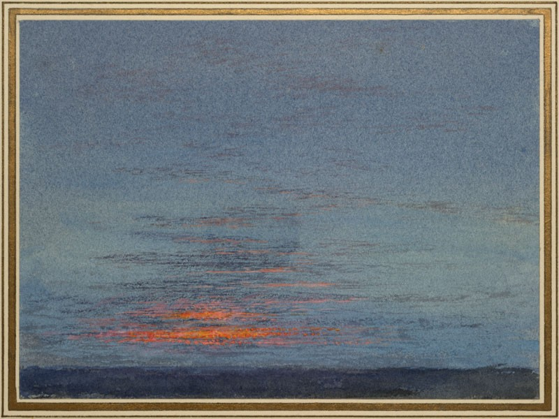 John Ruskin, Study of Dawn