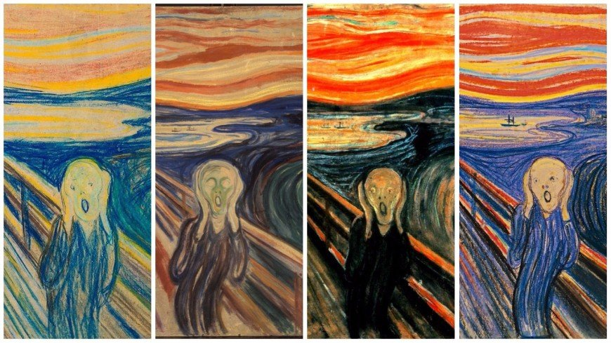 Expressionism The Scream by Edvard Munch