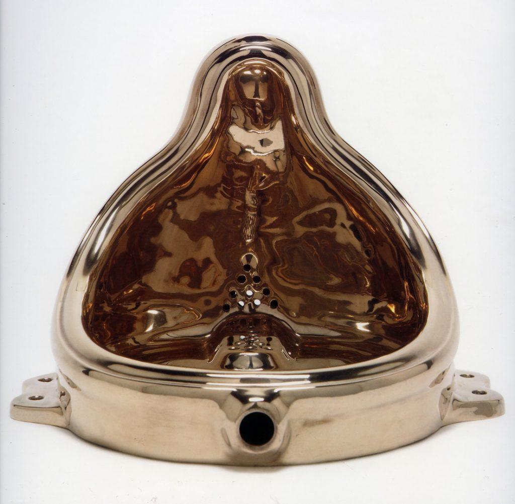 Toilet art: Sherrie Levine, Fountain (Buddha), Whitney Museum of American Art, 1991.