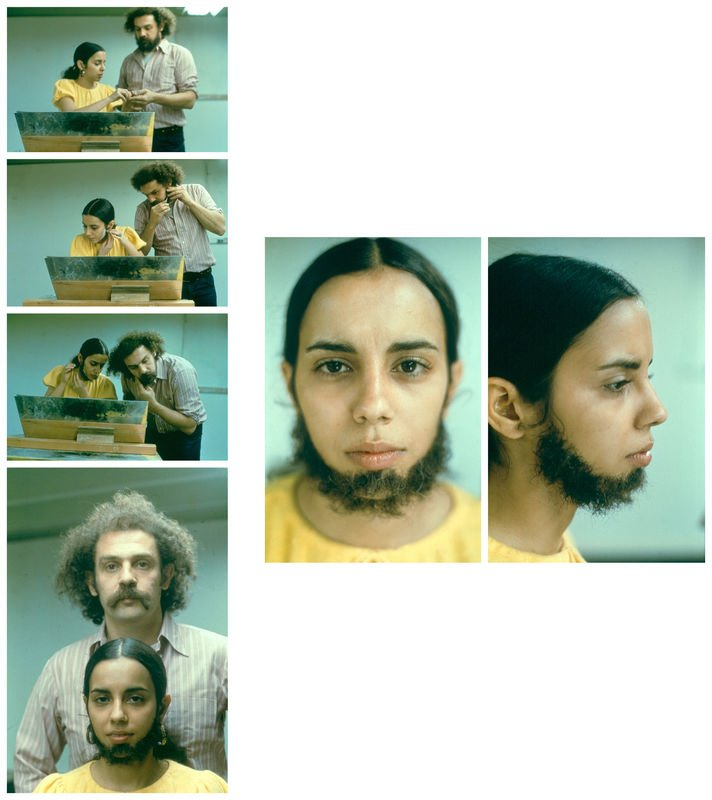 Ana Mendieta, Untitled (Facial Hair Transplant)