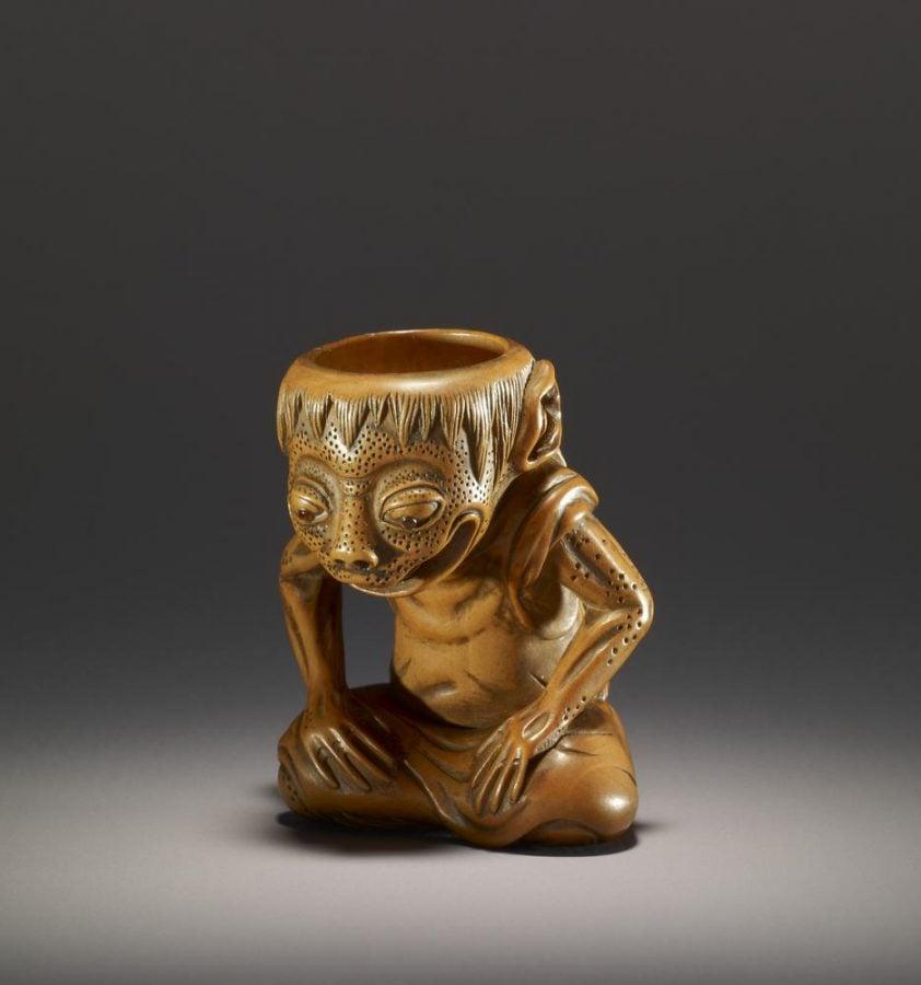 Hokusho, Netsuke of Mythical Creature