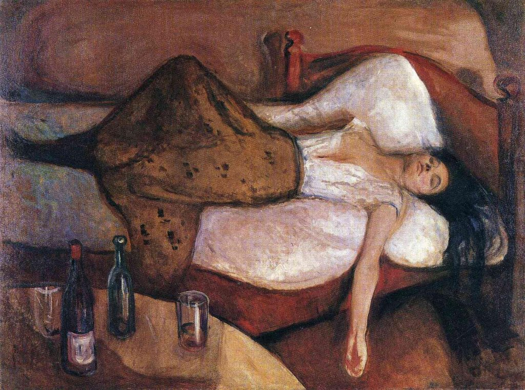 Expressionism Edvard Munch, The Day After, 1894-1895, National Gallery, Oslo, Norway.