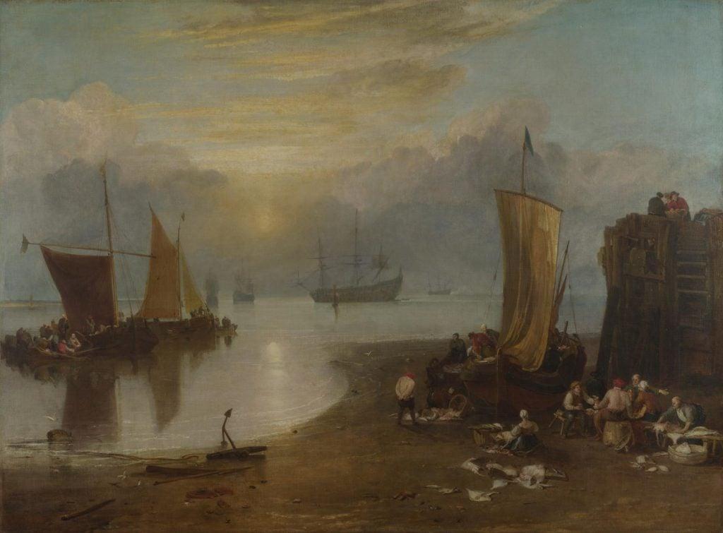Joseph Mallord William Turner, Sun Rising Through Vapour,