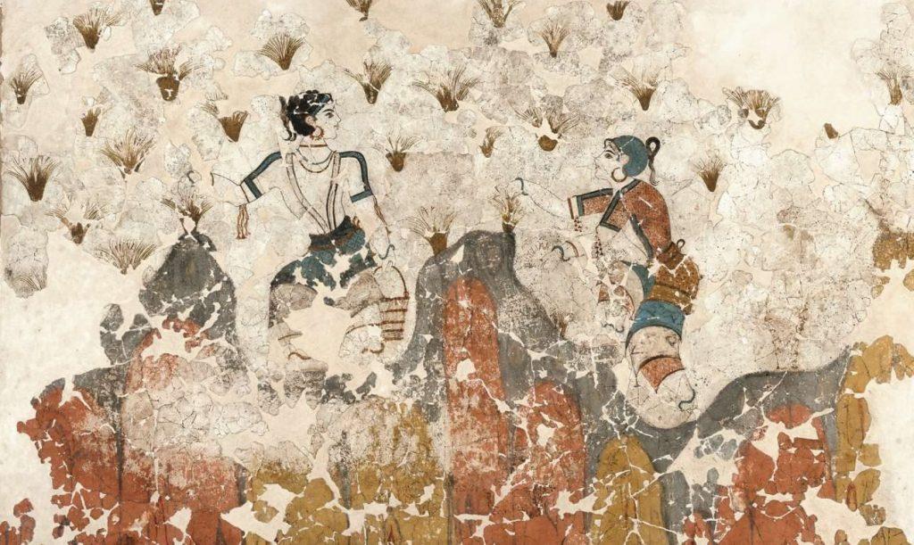 The Saffron Gatherers,