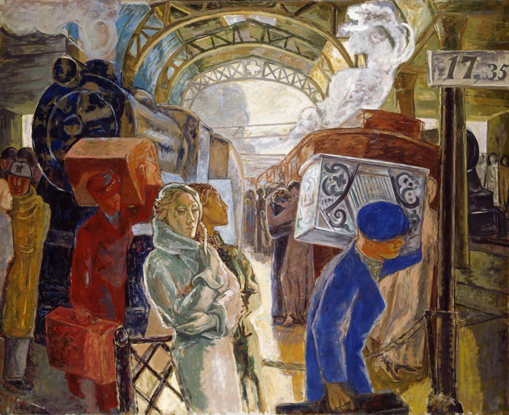 Alf Rolfsen, The Big Station, 1932, Nasjonalmuseet, Oslo, Norway.