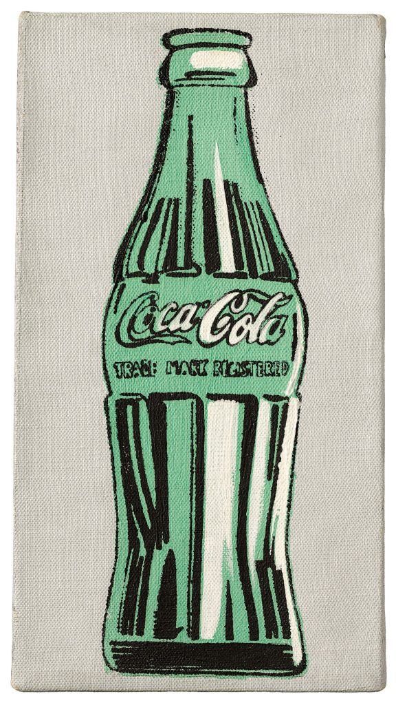 Andy Warhol, Coke Bottle, Christie's Auction house