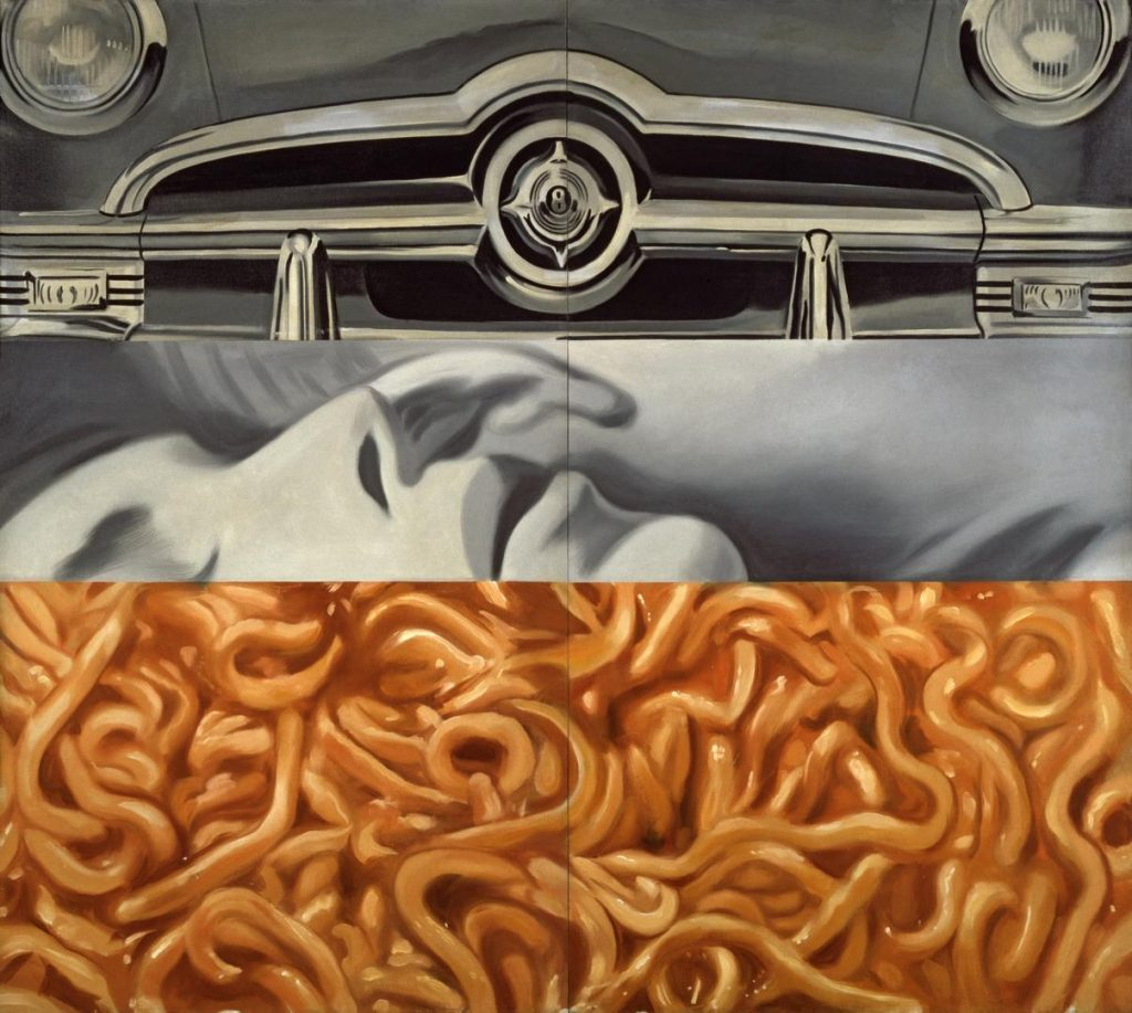 Pop Art 101: James Rosenquist, I Love you with my Ford,