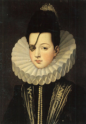 Alonso Sánchez Coello, Princess of Eboli, 17th century, Pastrana